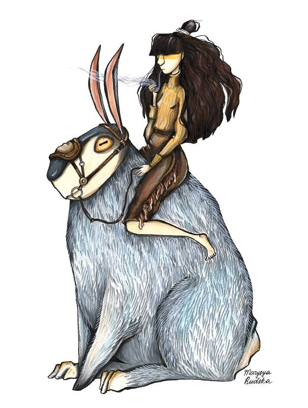 Hare Rider